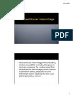 Intraventricular Hemorrhage