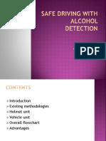 Safe Drive Alcohol
