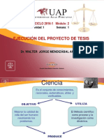 1  PROBLEMA Ejecucion del Proy, de tesis