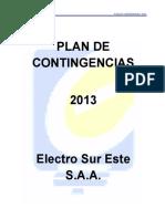 Plan de Contingencias 2013