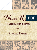 Nelson Rodrigues e a Literatura de Massa - Aguimario Pimentel