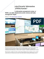 What is a Physical Security Information Management.docx