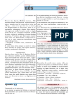 Lista de exercícios de portugues