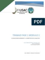 Didáctica Modulo 1 ingeniería USAC