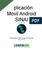 Guía de Usuario Aplicación Móvil Android SINAI