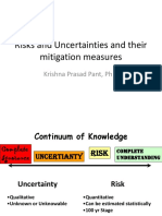 5. Risk and Uncertainties