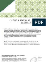CAPITULO 9. GENETICA.
