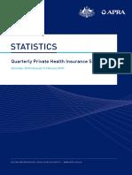 Private Health Insurance Quarterly Statistics December 2018