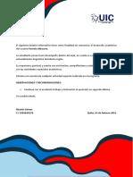 Formato de Boletin Informativo