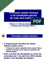 1b Modulo 5 Pat Introducao a Patologia Básica Processo Saúde