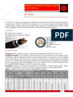 Three Core Cables to IEC 60502
