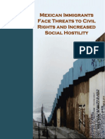 CCIS CNDH, Mexican Immigrants Face Threaths to Civil Rights