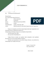 Contoh Surat Permohonan Beasiswa Kuliah