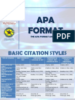 Apa Format and Style