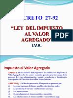 5.1 Ley Del IVA Dto. 27-92