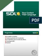 SDL: Introduction générale (French)