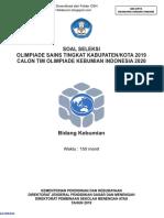 9. Soal OSK Kebumian SMA 2019.pdf