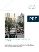 Myanmar Private Equity Report 2018_INSEAD