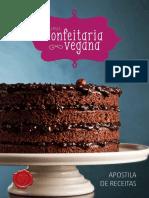 Apostila Curso Confeitaria Vegana