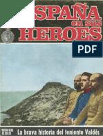 España en Sus Heroes (Número 16) . La Brava Historia del Teniente Valdes