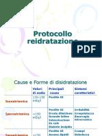 Seminario 0405 Protocollo Reidratazione