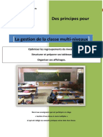 Dossier La Gestion de La Classe Multi-niveaux 2014