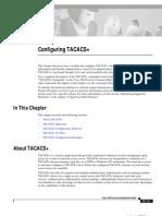 Configuring TACACS+