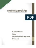 4. Product Design Morphology