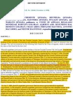 Quijada vs CA G.R. No. 126464 December 4, 1998