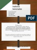 Dermatosis Profesionales Más Frecuentes (1)