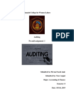 Auditing Assignment 1 Noor