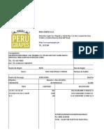 Ejemplo de una empresa de Uvas para su exportacion
