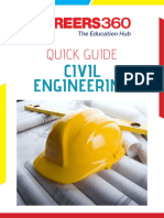 Careers360 Quick Guide to Civil Engineering