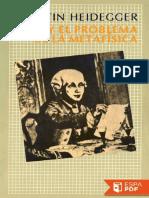 Kant y el problema de la metafi - Martin Heidegger.pdf