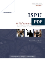 Mullick AlQaeda and Pakistan ISPU Report Oct 2010