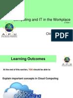 9 c It w Cloud Computing