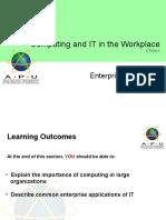 7 c It w Enterprise Computing