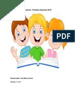 Propuesta Literaria para secundarias - Tertulias