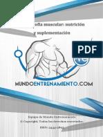 Hipertrofia Muscular. Nutrición y Suplementación
