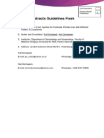 Abstracts Guidelines Form PERU