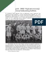 Dinamo Zagreb - BSK! Najkontroverzniji Meč u Istoriji Balkanskog Fudbala