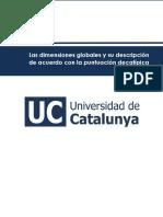 Las Dimensiones Globales y Su Descripción