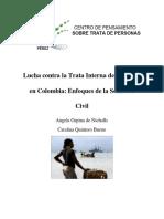 Lucha contra la trata de personas en Colombia