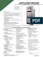 AMSCO Lab Series Small Tech Data Sheet English