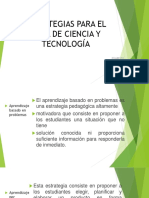 Estrategias Para El Área de Ciencia y Tecnología