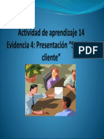 Actividad de Aprendizaje 14 Evidencia 4