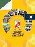 Prestação de Contas da Prefeitura de Massaranduba - 2018