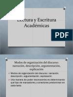 Lectura y Escritura Académicas