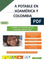 agua potable en latinoamerica y colombia