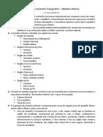 09 - Resumo de Anatomia Topográfica - Membro Inferior